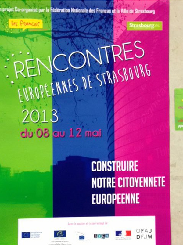 2013-Rencontres Europèennes de Strasbourg