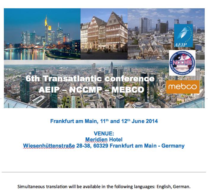 2014 - Transatlantic conference